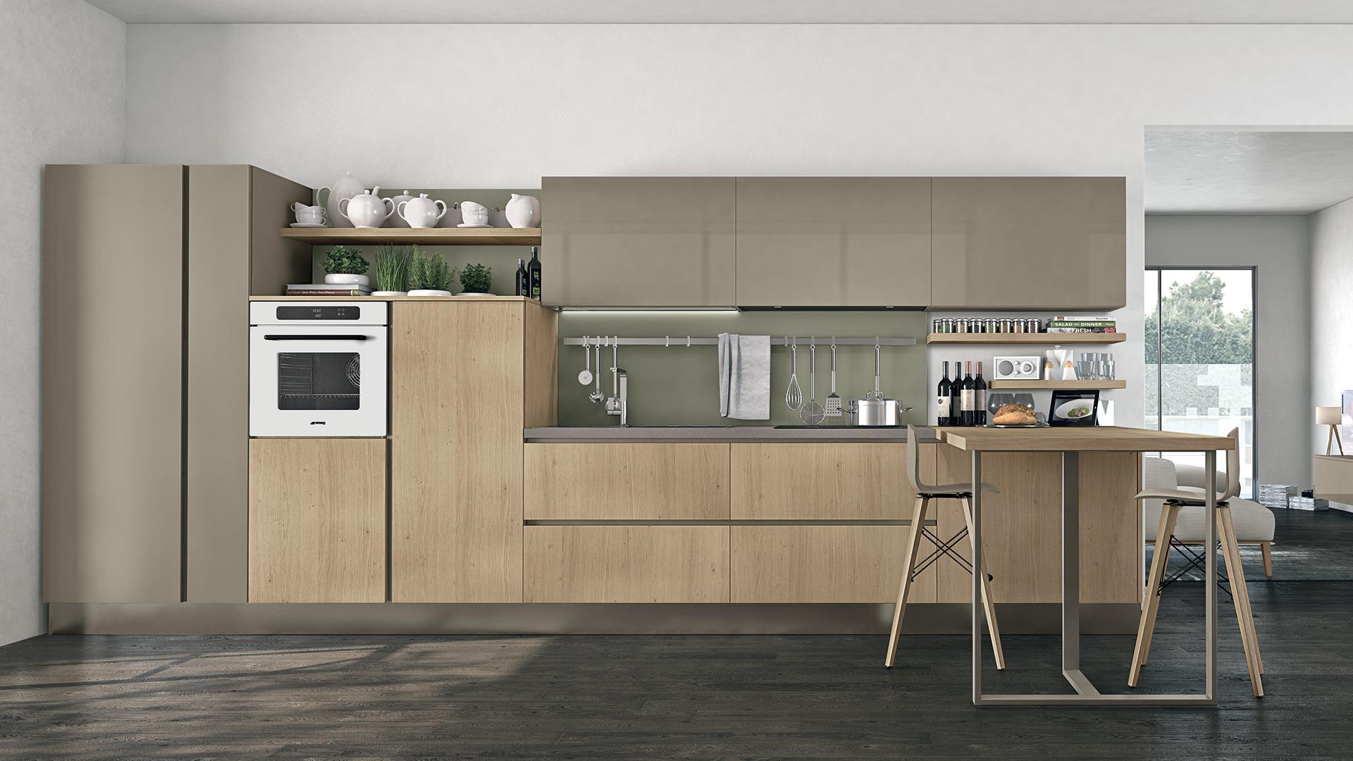 Cucine Moderne Lube - Modello Clover | Perego Arredamenti