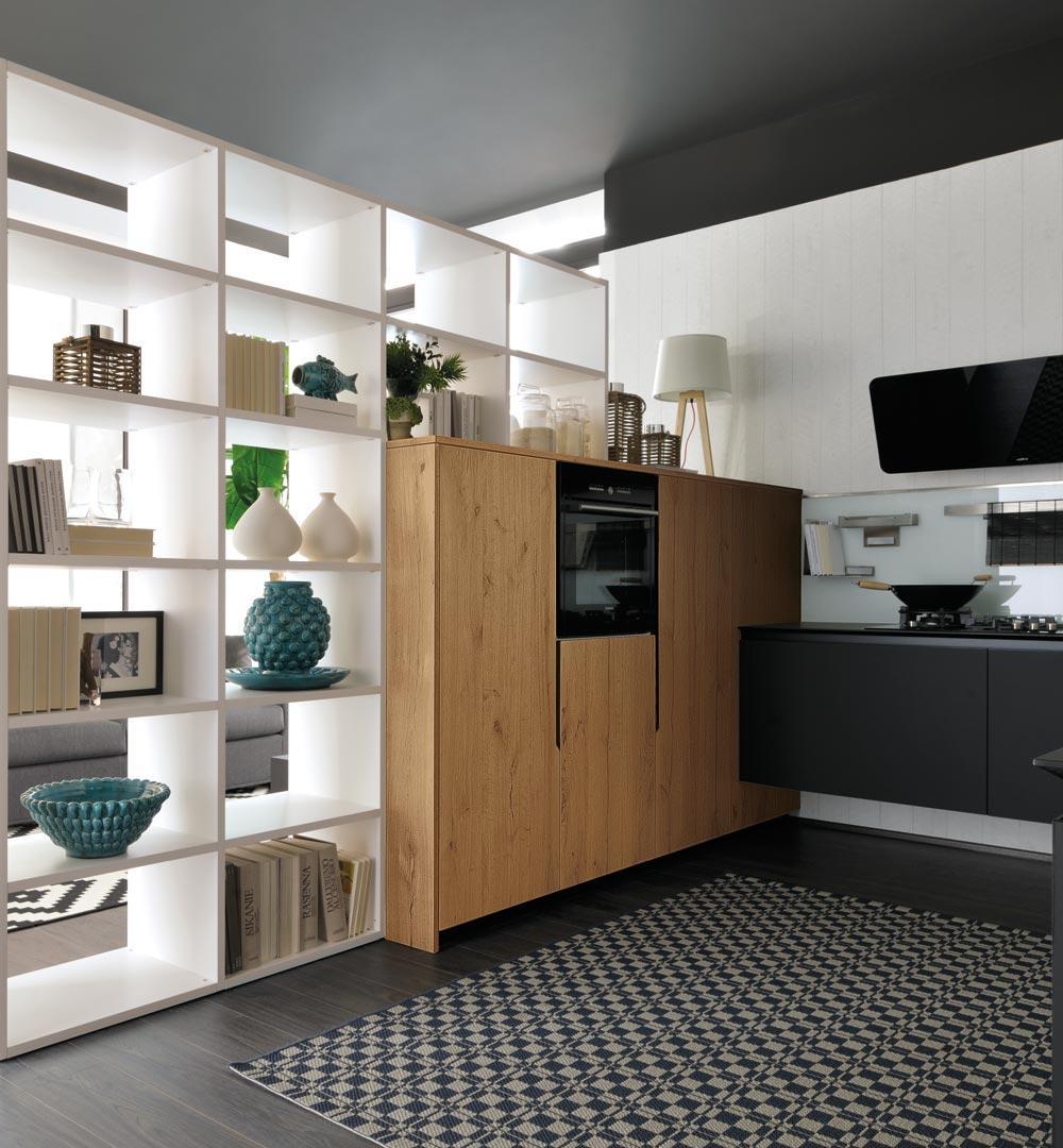Cucine Lube Linda Prezzo : Cucine moderne lube modello oltre lux perego arredamenti