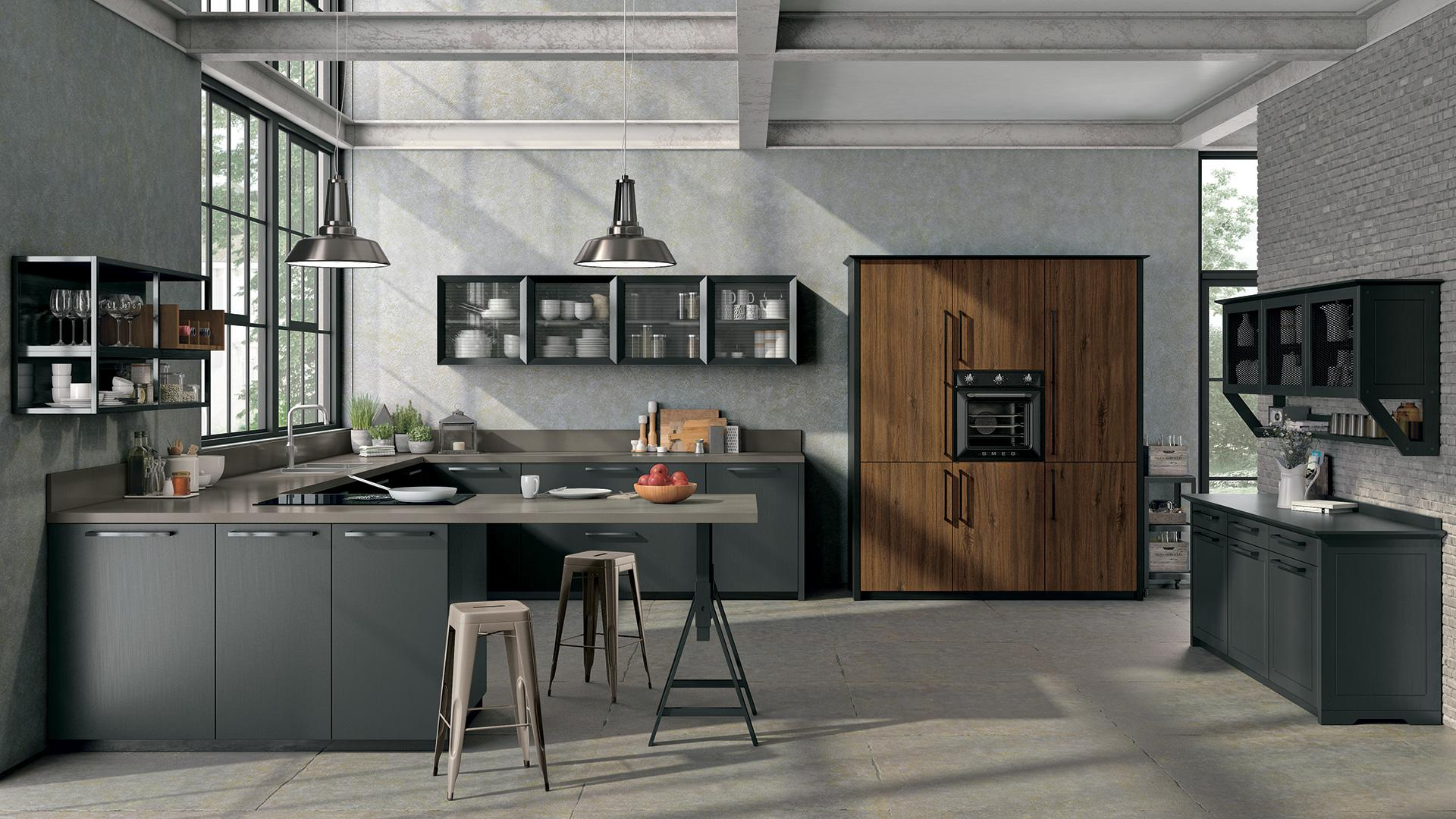 Cucine Moderne Lube - Modello Oltre Bridge | Perego Arredamenti