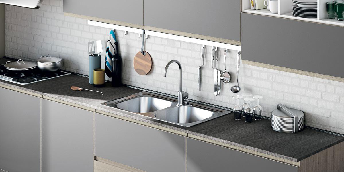 Cucine lube creo kitchens modello jey 8 perego arredamenti - Cucina creo jey prezzi ...