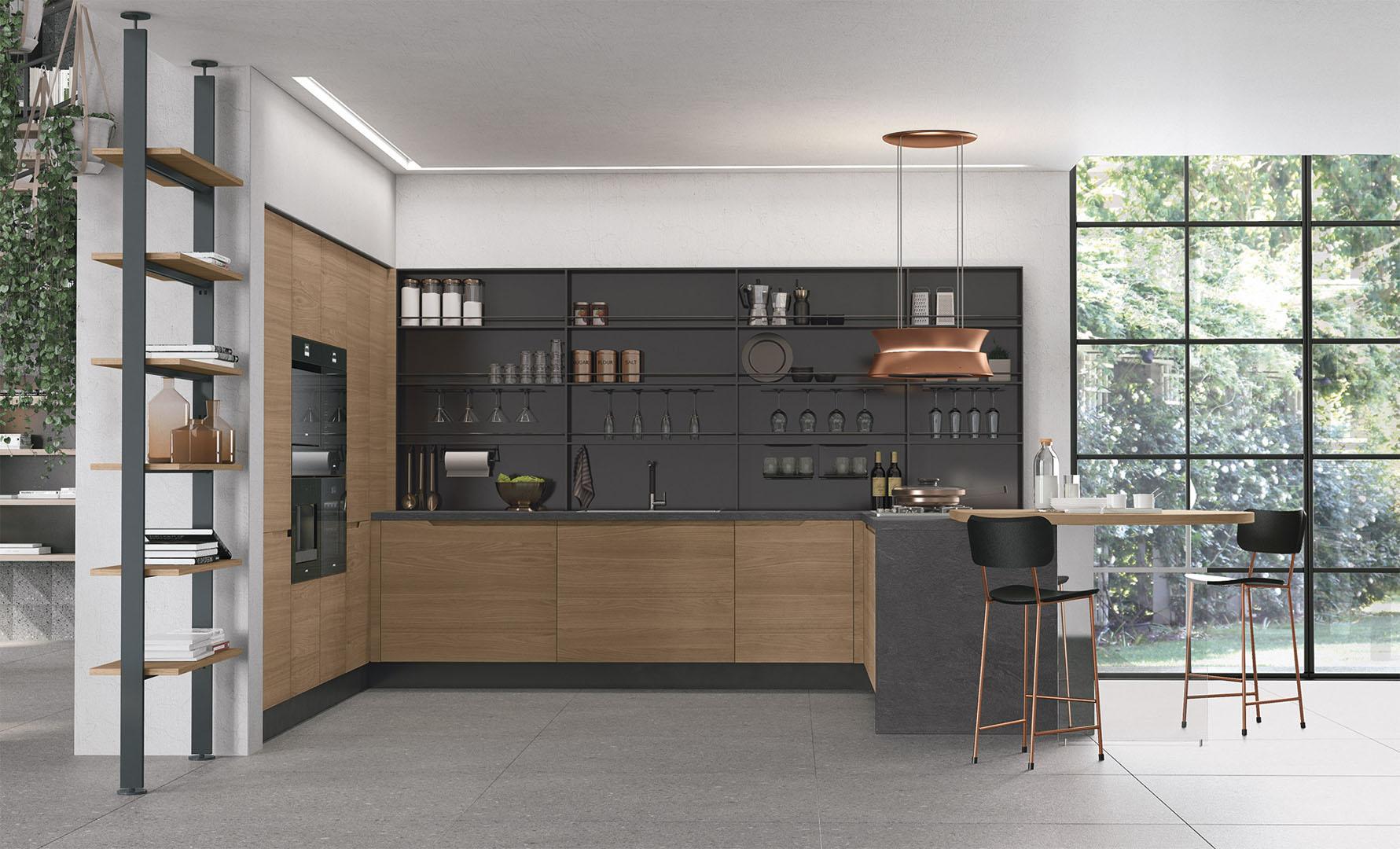 Cucine Moderne Lube - Modello Luna #1 | Perego Arredamenti