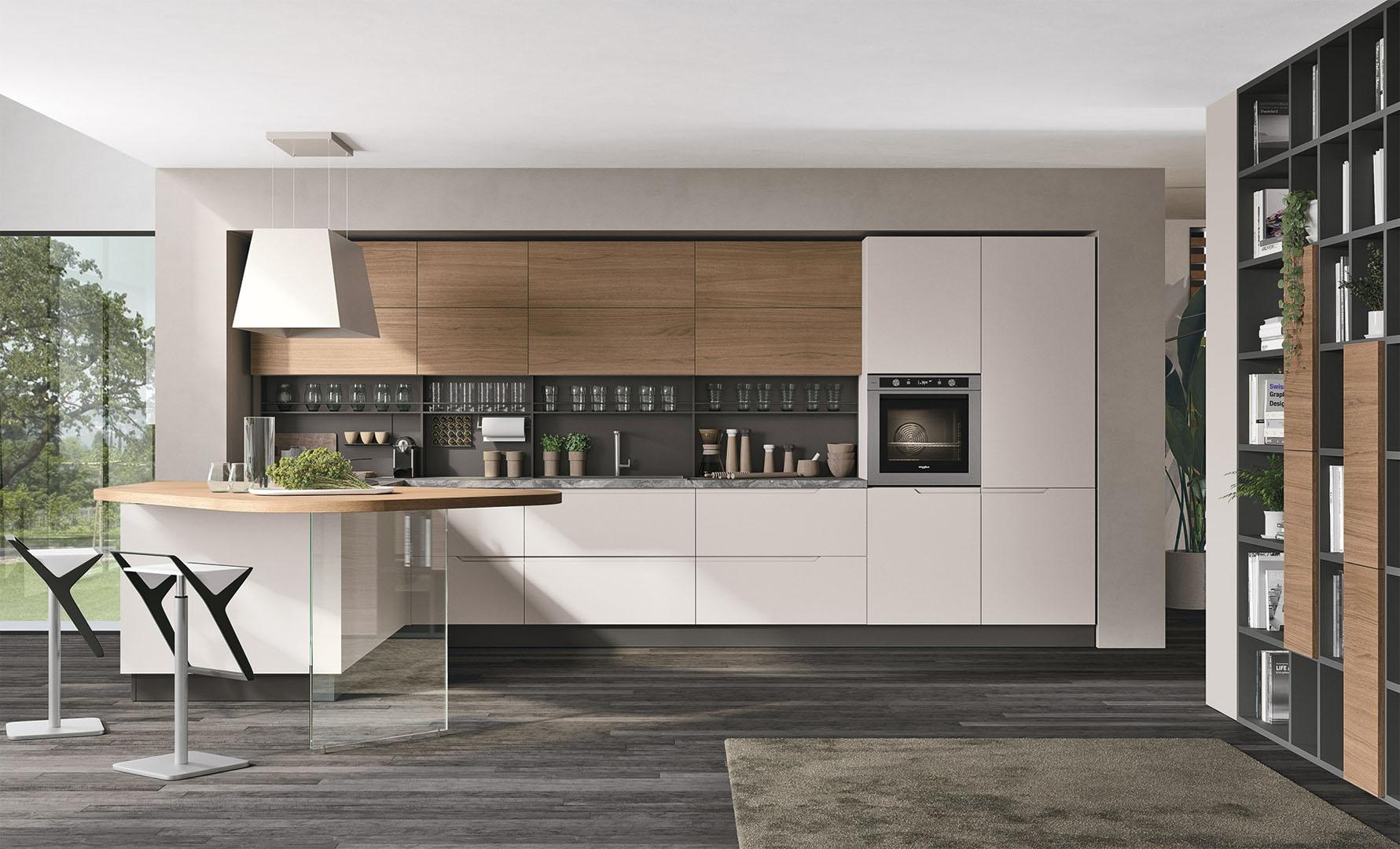 Cucine Moderne Lube - Modello Luna #10 | Perego Arredamenti