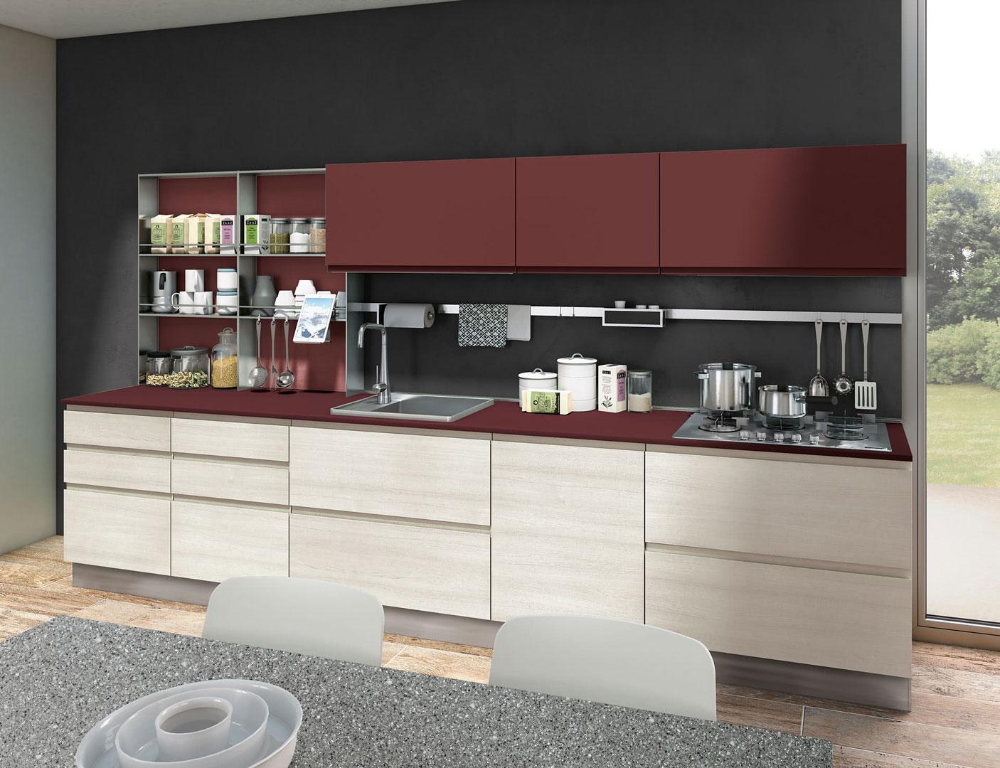 Cucine Lube Creo Kitchens Modello Jey Feel 30 Perego Arredamenti