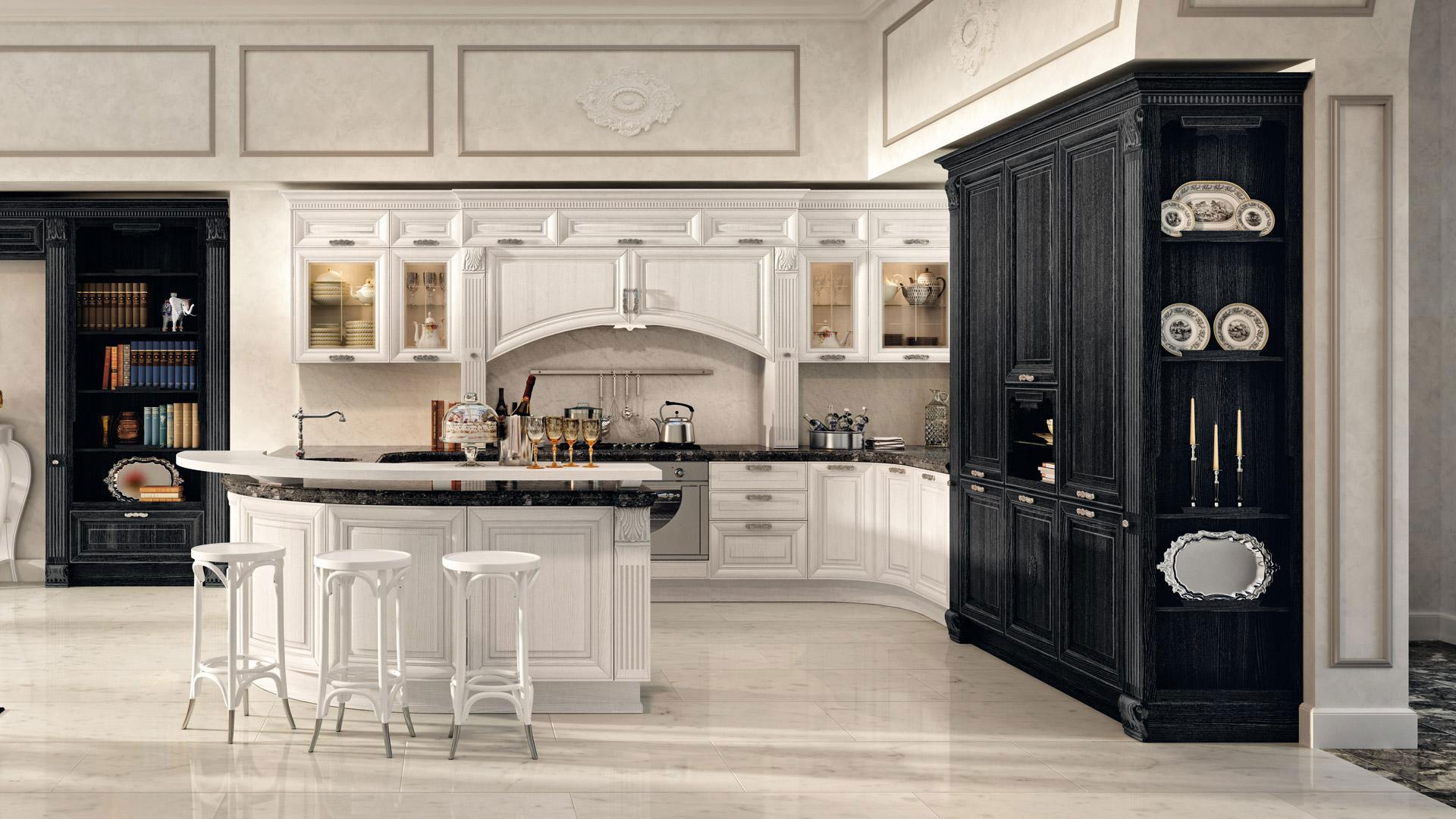 Cucine classiche lube modello pantheon 9 perego arredamenti - Cucine lube classiche prezzi ...