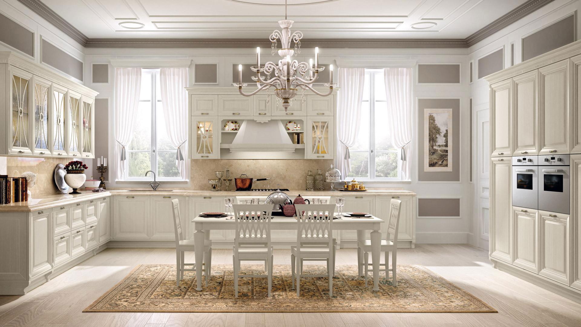 Foto Cucine Lube Moderne : Cucine classiche lube modello pantheon perego