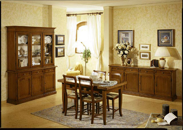 Soggiorno arte povera linea fiore perego arredamenti - Mobili soggiorno arte povera ...