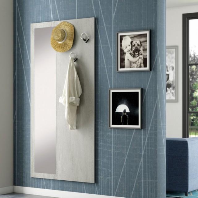 Pannello appendiabiti specchio family f10 perego arredamenti - Appendiabiti con specchio da parete ...