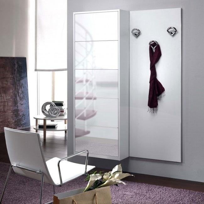 Mobile ingresso scarpiera bianca specchio family f13 - Catalogo ikea mobili ingresso ...