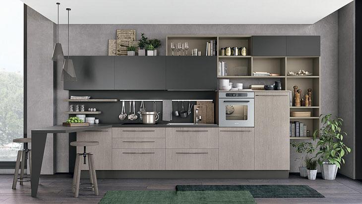 Cucine moderne lube modello clover perego arredamenti for Cucine moderne lube prezzi