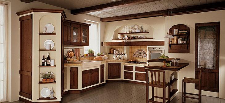 Cucine Componibili Stile Antico.Cucina Lube Borgo Antico Modello Anita Perego Arredamenti
