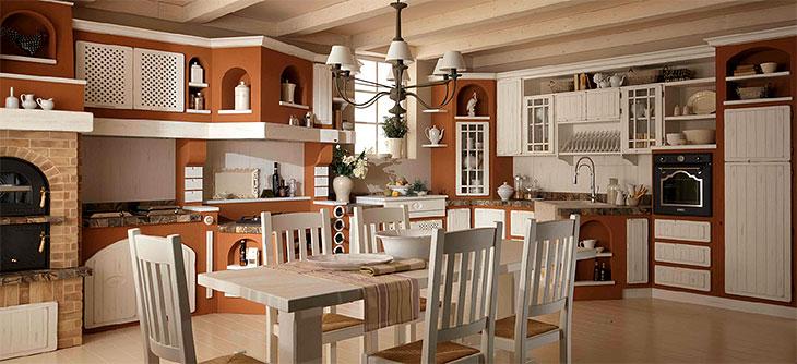 Cucina Lube Borgo Antico modello Elena   Perego Arredamenti