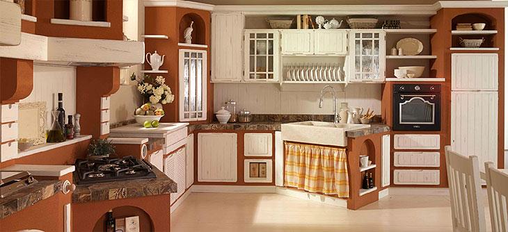 San Marino Cucine Componibili : Cucina lube borgo antico modello elena perego arredamenti