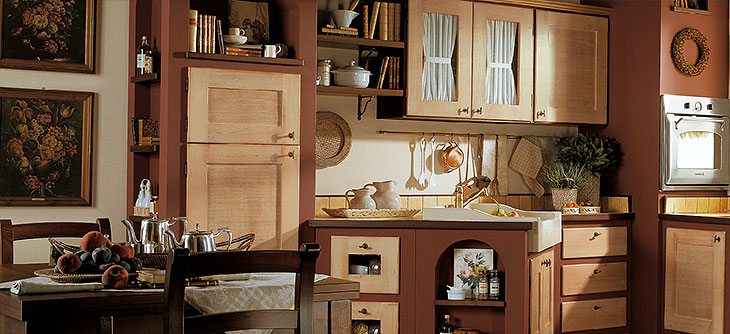 Cucina lube borgo antico modello matilde perego arredamenti for Arredamenti riuniti prezzi