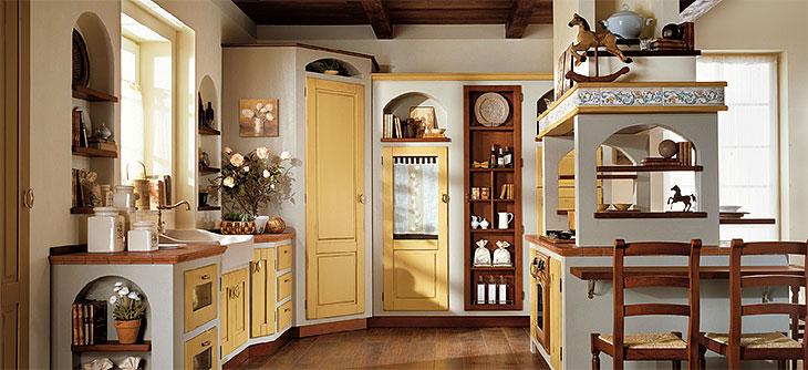 Cucina lube borgo antico modello melania perego arredamenti for Mobili medievali