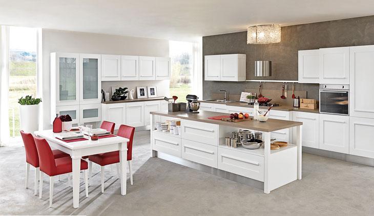 Cucine moderne lube modello gallery 8 perego arredamenti for Accessori per cucina moderna