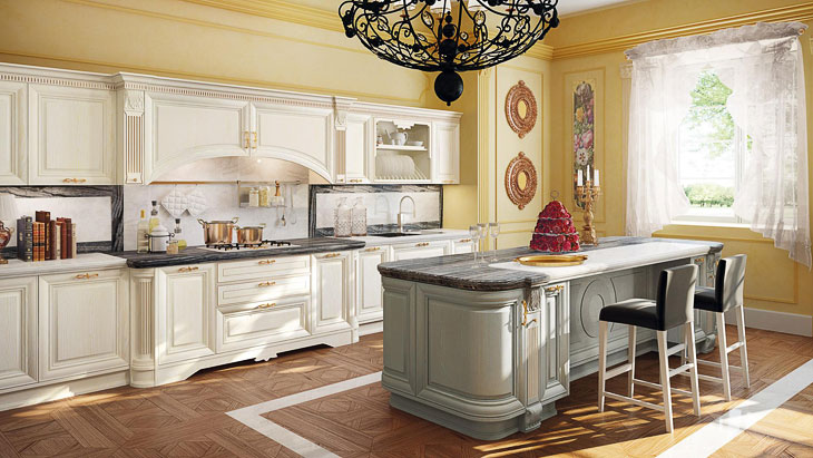 Cucine classiche lube modello pantheon 5 perego arredamenti - Cucine lube classiche prezzi ...