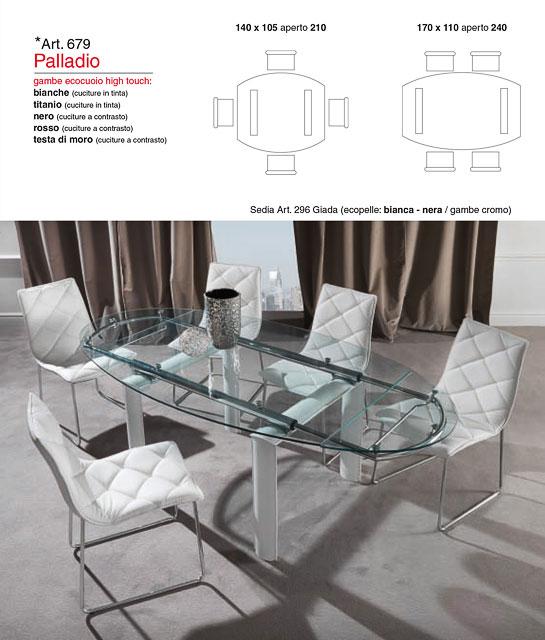 Tavolo modello Palladio | Perego Arredamenti