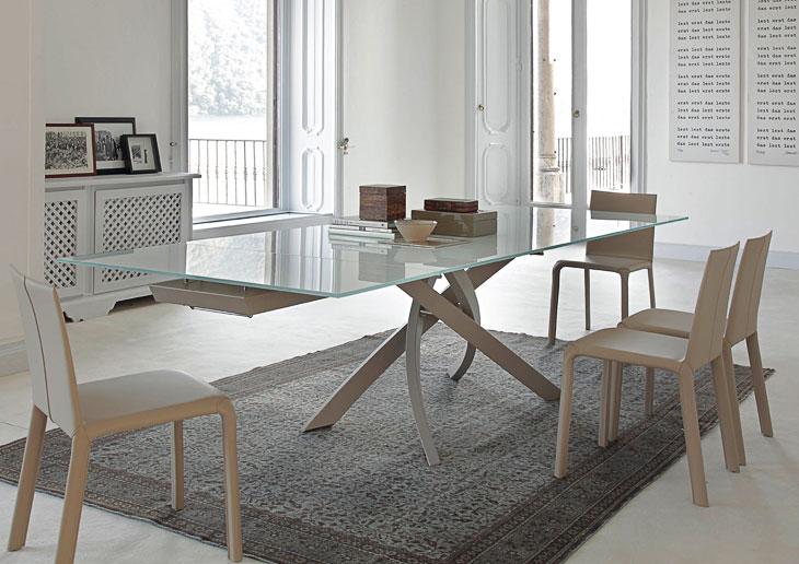 Tavolo modello artistico e sedia alice bassa perego arredamenti