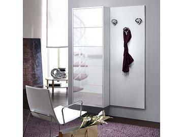 Complementi mobili per ingresso perego arredamenti - Scarpiera specchio bianca ...