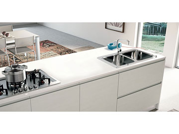 Cucina lube creo kitchens modello jey perego arredamenti - Cucina creo jey prezzi ...