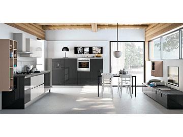 Cucina lube creo kitchens modello nita perego arredamenti for Cavalli arredamenti civezzano tn
