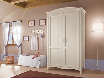 Composizione legno <strong>massello</strong> 1 - Romantic Collection