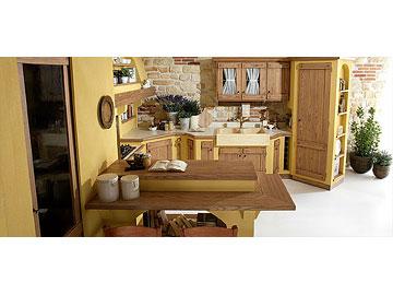 Lube Cucine » Cucine Lube Borgo Antico in muratura   Perego Arredamenti