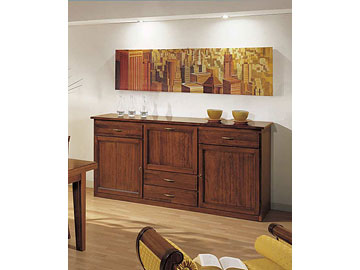 Credenza <strong>arte</strong> <strong>povera</strong> collezione &quot;Dorica&quot;