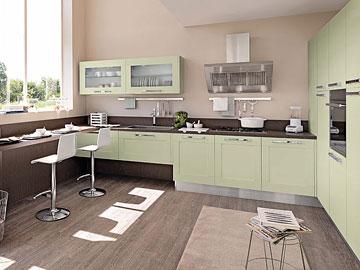 Cucina moderna lube modello gallery perego arredamenti - Cucine sotto finestra ...