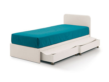 Letto Easy <strong>pronto</strong> per cassetti