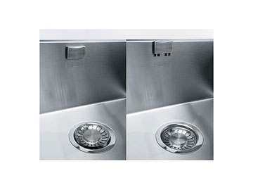 Saltarello con scarico Advanced Inox satinato <strong>Franke</strong>
