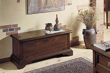 Arte povera perego arredamenti for Cassapanche di legno