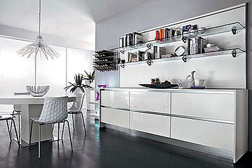 Beautiful Cucina Lube Moderna Contemporary - Design & Ideas 2017 ...