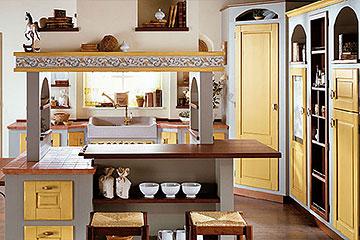 Lube Cucine » Cucine Lube Borgo Antico in muratura | Perego ...