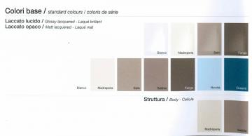 COLORAZIONI DISPONIBILI