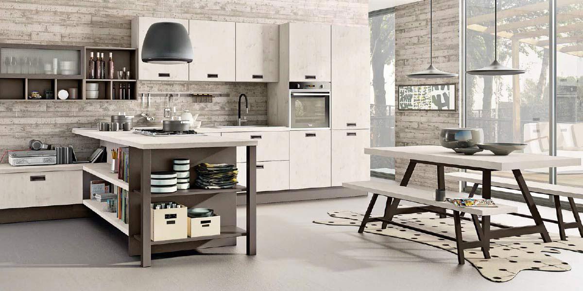 Promozioni cucina lube creo prezzi modello kyra perego for Arredamenti perego