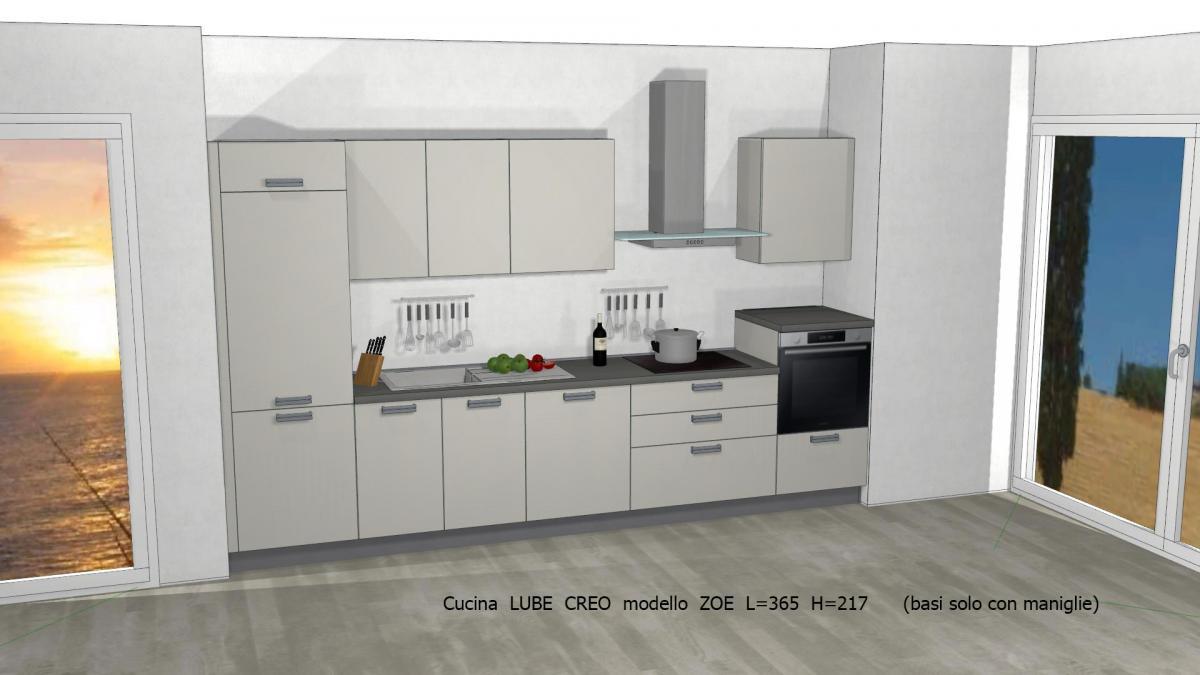 Promozioni » Cucina LUBE CREO prezzi modello ZOE | Perego Arredamenti