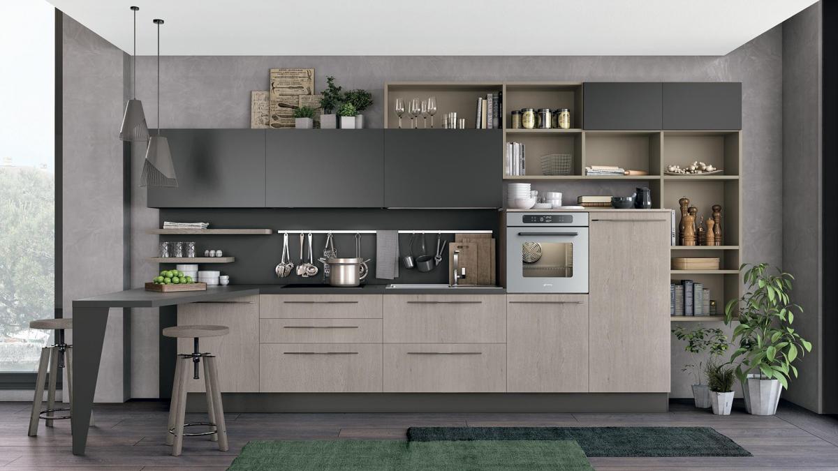 Promozioni cucina lube prezzi modello clover perego for Soggiorni lube prezzi