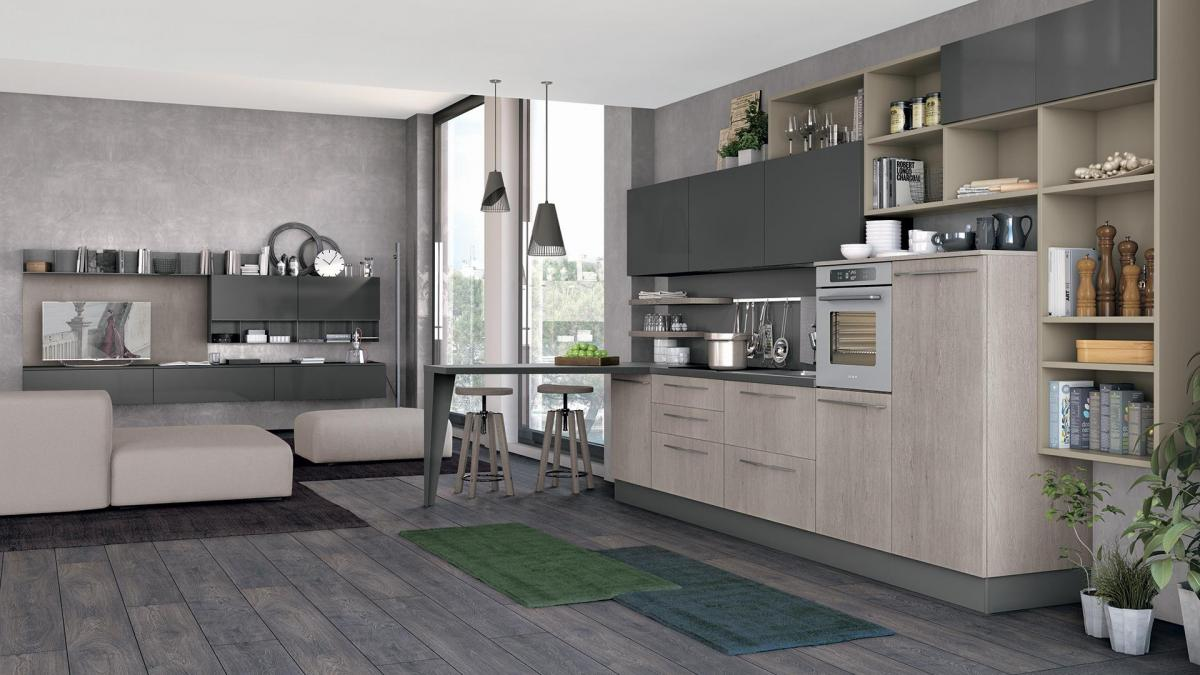 Promozioni cucina lube prezzi modello clover perego arredamenti - Cucina arredamento prezzi ...