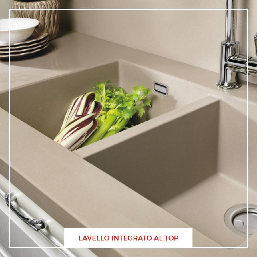 News » Lavello integrato al piano cucina LUBE | Perego Arredamenti