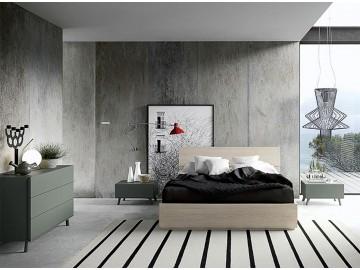 Promozioni » Letto a contenitore in melaminico modello SONG | Perego ...