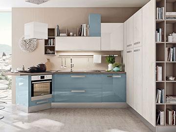 Promozioni cucina lube modello swing perego arredamenti - Cucina lineare 3 metri senza frigo ...