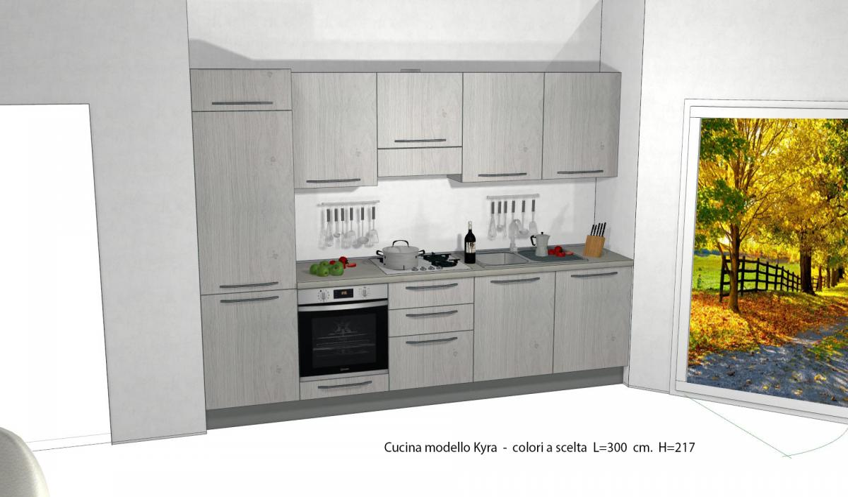 Cucina Kyra Creo Prezzo cucine lube creo kitchens - modello tablet#7   perego